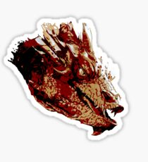 Smaug the Unassessably Wealthy Sticker