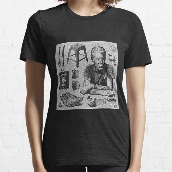 Vintage Anthony Bourdain T-Shirt T-Shirt Essential T-Shirt
