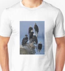STOCK ~ Amongst Friends ~ Homer, Alaska Unisex T-Shirt