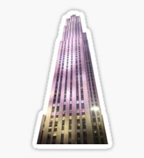 Rockefeller Tower Sticker