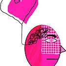 Pink in the face by Hena Tayeb