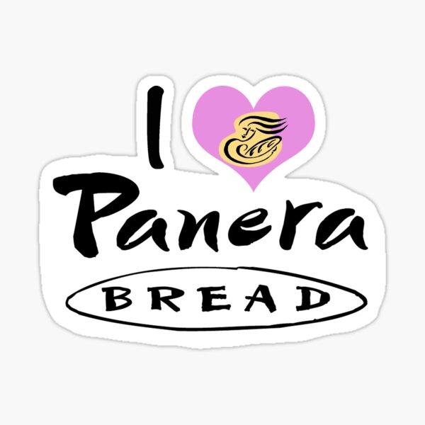 I Love Panera Bread Sticker