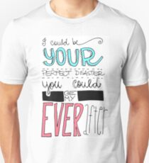 Marianas Trench Ever After Drawn Lyric Unisex T-Shirt