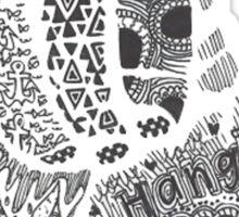 Hangloose Shaka Sticker