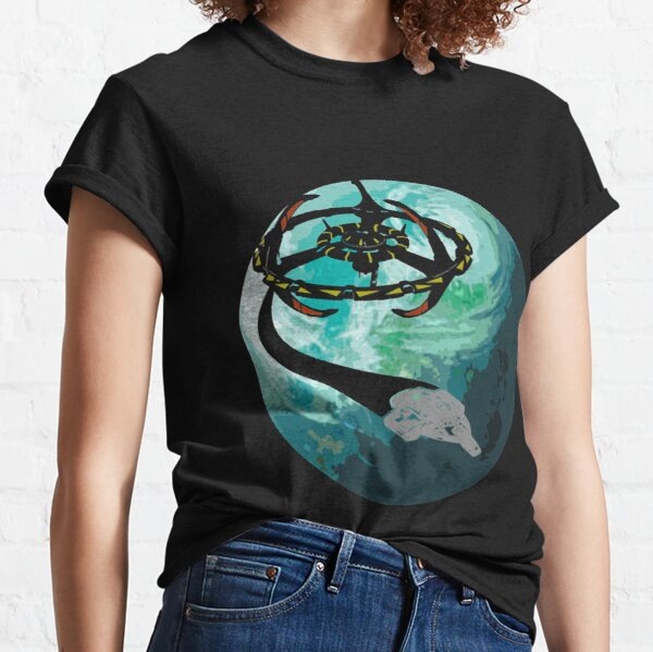 DS9 Bajor Flyby Classic T-Shirt