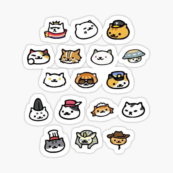 Neko Atsume Rare Cats! Sticker