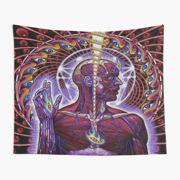 AG - Psychedelic Lateralus Tapestry