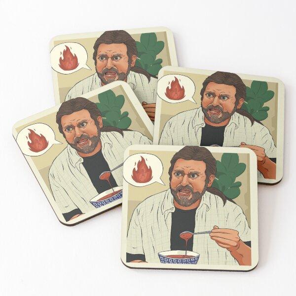 Gazpacho Coasters (Set of 4)