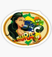 Laura's Fresh Fruit Store ( Laura Street Fighter V ) Sticker