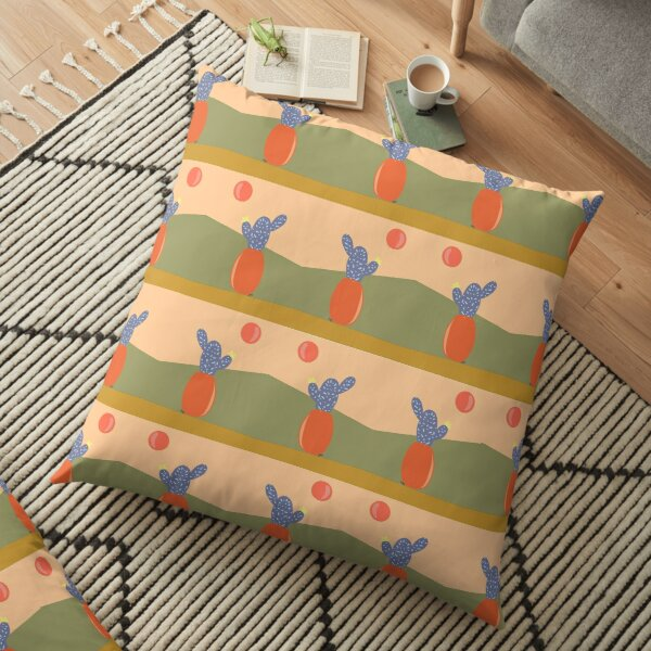 Cactus Sun Floor Pillow