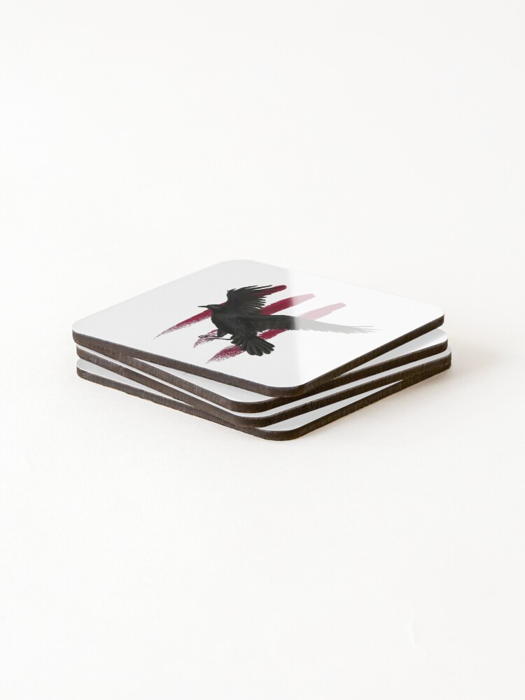 Alternate view of Schitt's Creek - The Crows Have Eyes 3: The Crowening - Acrylic Painting Coasters (Set of 4)
