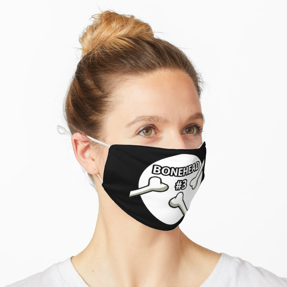 Bonehead #3 Design  Mask