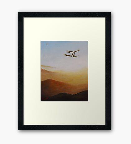 Talon Lock Framed Print