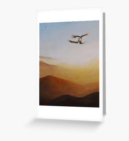 Talon Lock Greeting Card