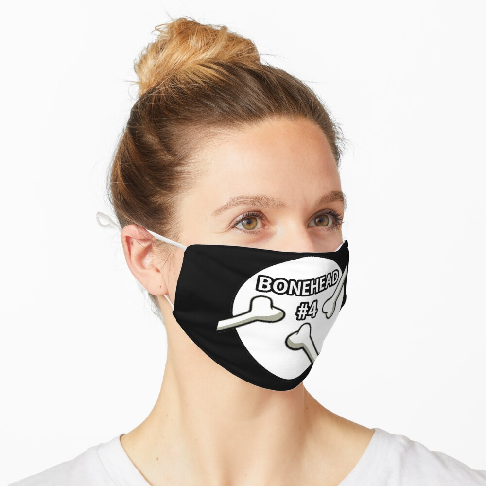 Bonehead #4 Design  Mask