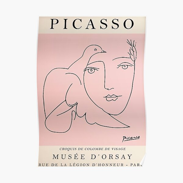 Best Selling Picasso Vintage Poster