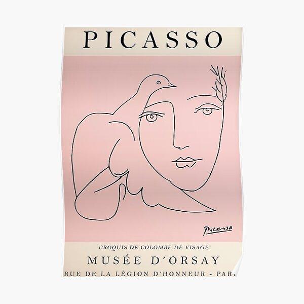 Meilleure vente Picasso Vintage Poster