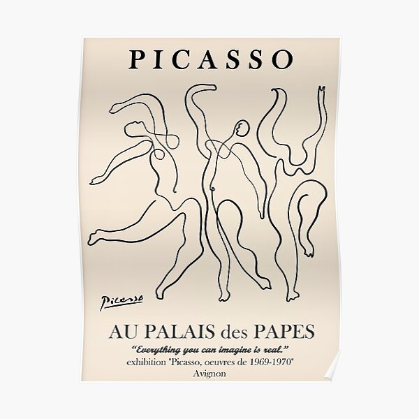 Best Selling  Exhibition Picasso Poster