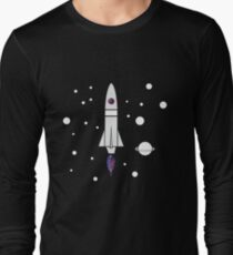 Milky way Spaceship  T-Shirt