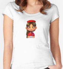 Braid FA Women's Fitted Scoop T-Shirt