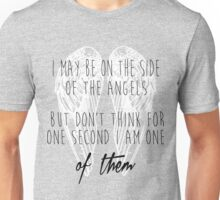 Side of the Angels (WHITE) Unisex T-Shirt