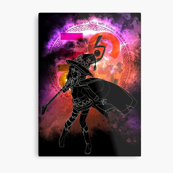Megumin Awakening Metal Print