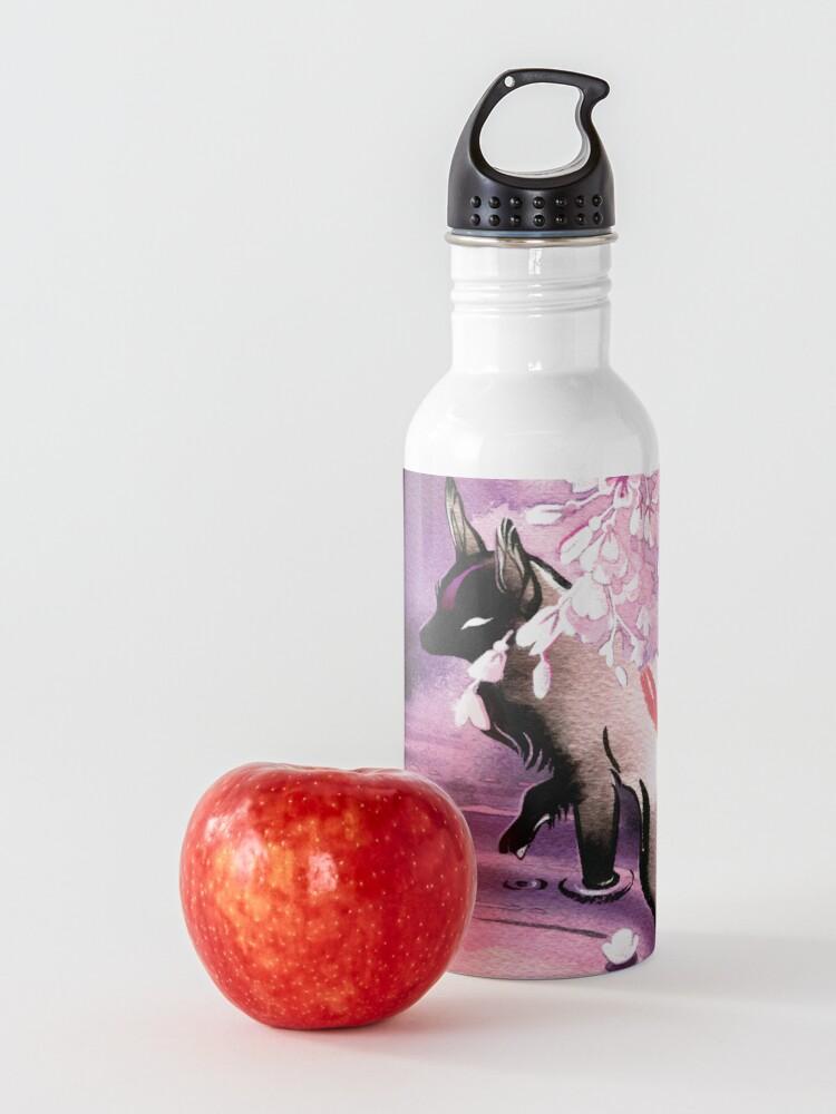Alternate view of Rose Moon Sakura Blossom Fox Water Bottle