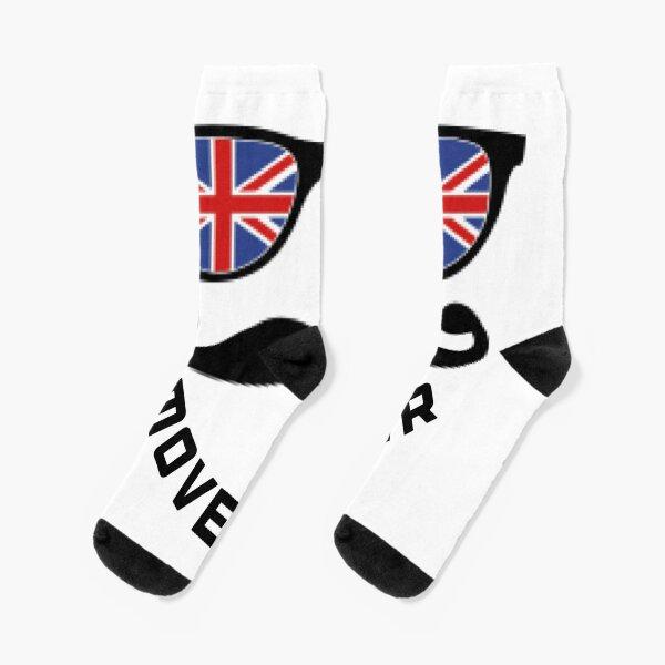 lustiger Movember Socken