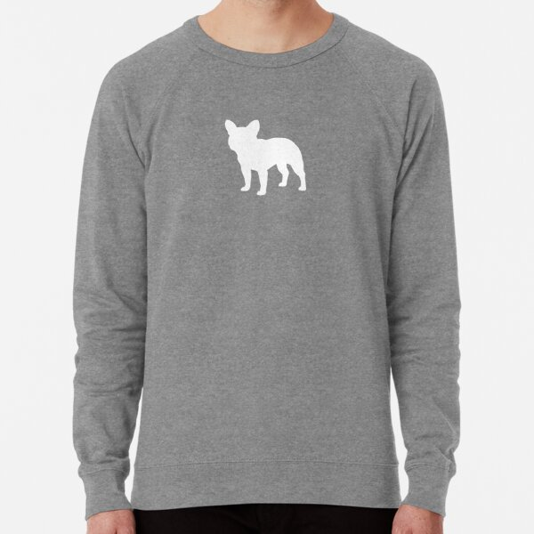 French Bulldog Silhouette(s) Lightweight Sweatshirt