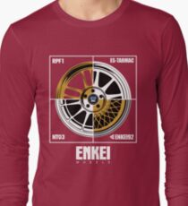 Enkei Wheels Long Sleeve T-Shirt