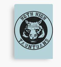 HOTH HIGH TAUNTAUNS Canvas Print