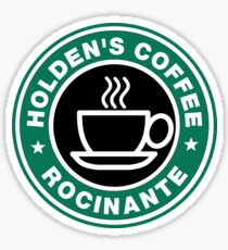 Holden coffee Sticker