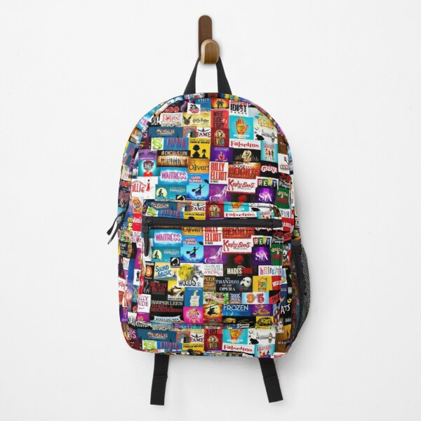 Broadway Show Logo Collage Backpack