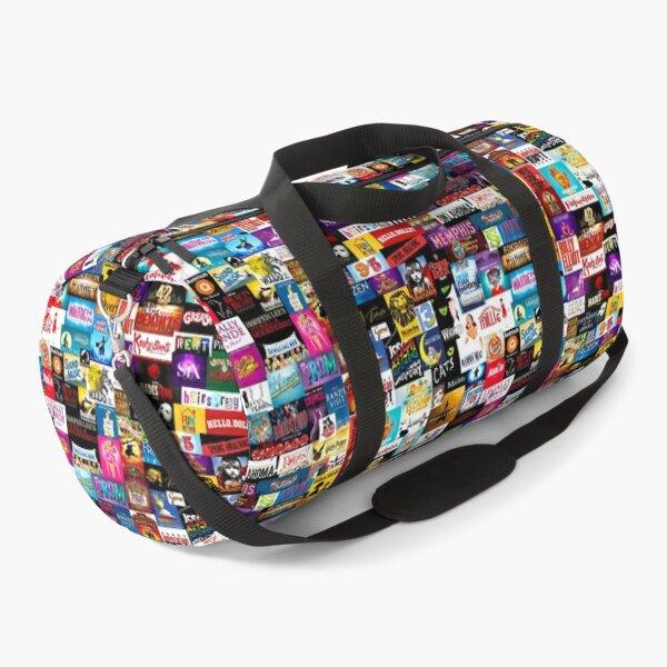 Broadway Show Logo Collage Duffle Bag