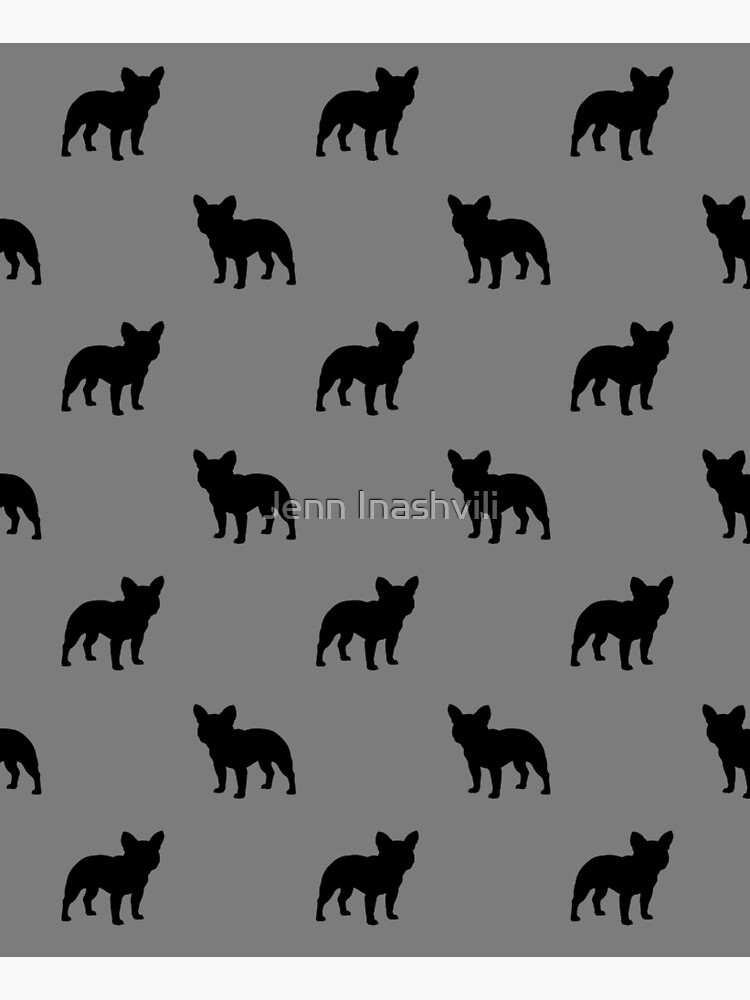 French Bulldog Silhouette(s) by ShortCoffee
