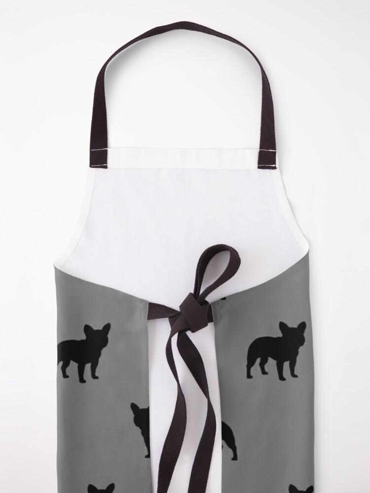 Alternate view of French Bulldog Silhouette(s) Apron