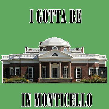 Monticello by thegoddamnhero