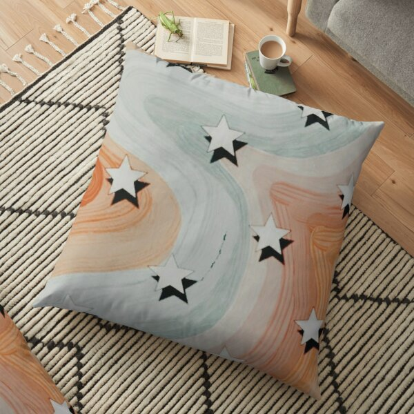 VSCO Star Pattern Design  Floor Pillow