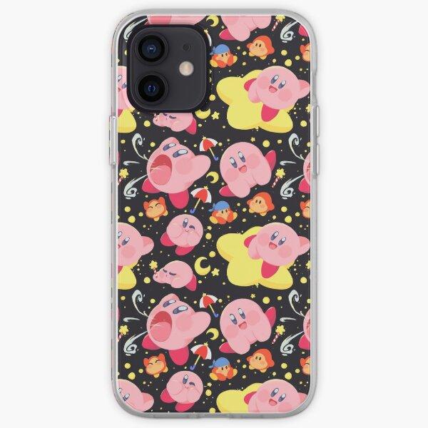 Patrón de Kirby Funda blanda para iPhone