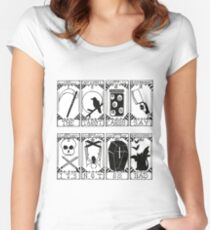 Greek Tragedy - The Wombats Women's Fitted Scoop T-Shirt
