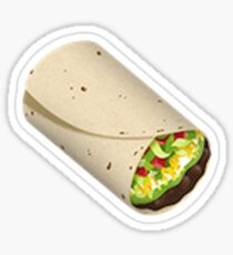 Pegatina burrito