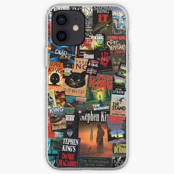 The Full Collection of Stephen King Books iPhone Soft Case