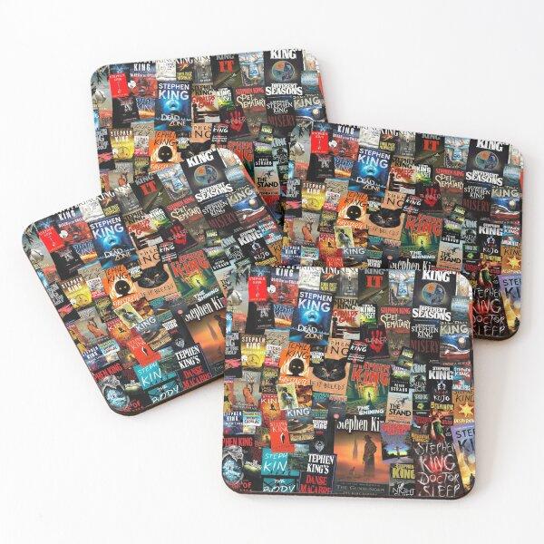 La collection complète de livres de Stephen King Dessous de verre (lot de 4)