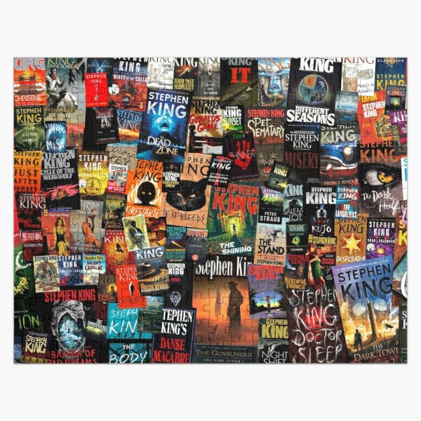 The Full Collection of Stephen King Books Jigsaw Puzzle