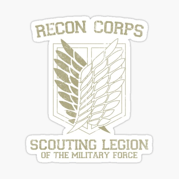 Scouting Legion Stickers Redbubble
