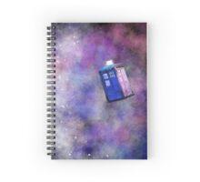 Galaxy TARDIS Spiral Notebook