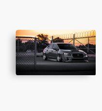Bagged 2015 Subaru STi Canvas Print