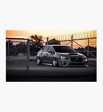 Bagged 2015 Subaru STi Photographic Print