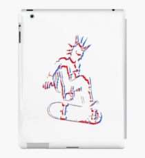 3d skateboard punk iPad Case/Skin