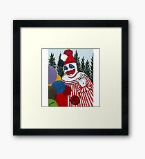 Pogo The Clown Framed Print